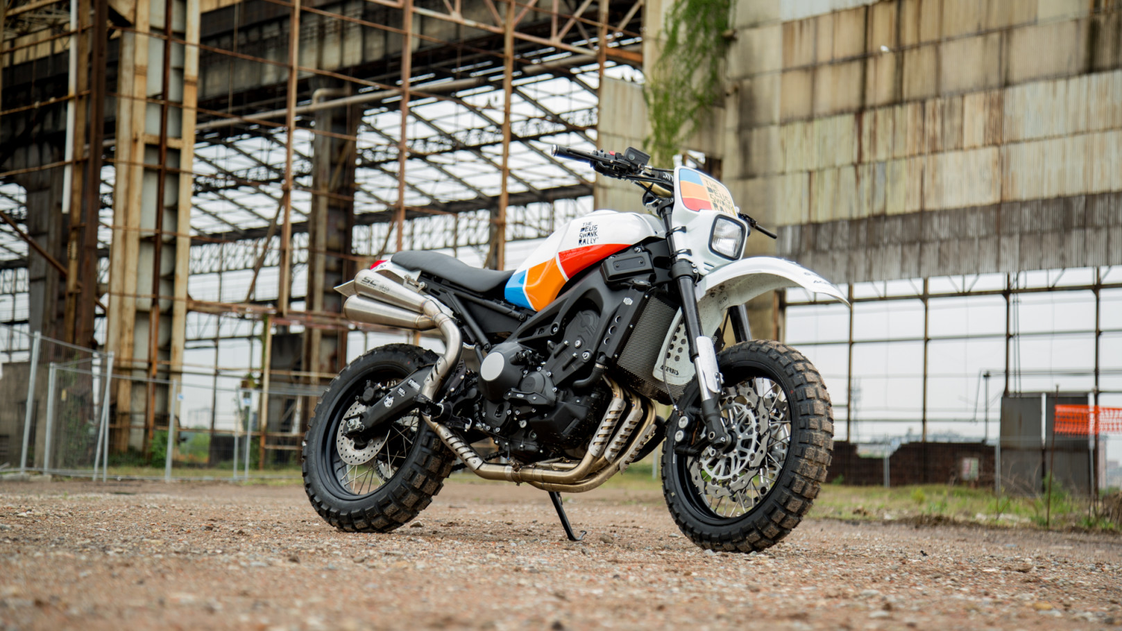 Bearoll YAMAHA XSR 900 DEUS SWANK RALLY Customized